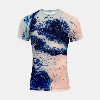 Miniature de image de SUNSET ON THE BEACH Shortsleeve Rashguard, Live Heroes