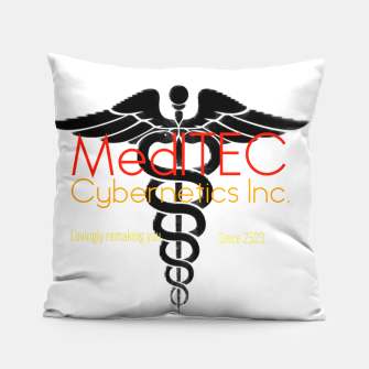 Thumbnail image of MediTEC Cybernetics Pillow, Live Heroes