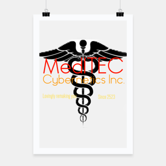 Thumbnail image of MediTEC Cybernetics Poster, Live Heroes