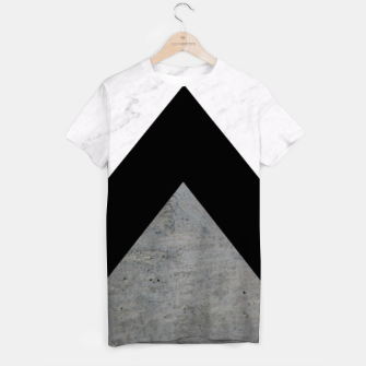 Thumbnail image of Arrows Collages Monochrome  T-shirt, Live Heroes