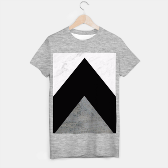 Thumbnail image of Arrows Collages Monochrome  T-shirt regular, Live Heroes
