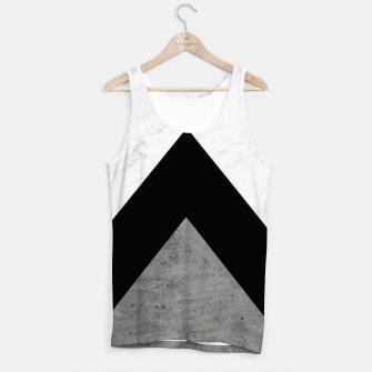 Thumbnail image of Arrows Collages Monochrome  Tank Top, Live Heroes