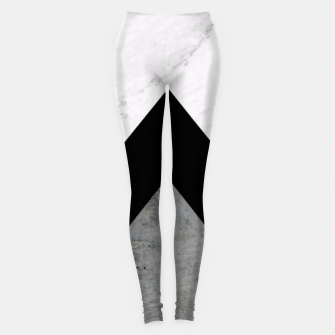 Thumbnail image of Arrows Collages Monochrome  Leggings, Live Heroes
