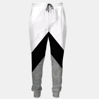 Thumbnail image of Arrows Collages Monochrome  Sweatpants, Live Heroes