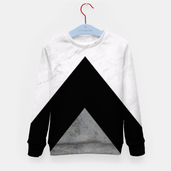 Thumbnail image of Arrows Collages Monochrome  Kid's Sweater, Live Heroes