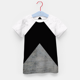 Thumbnail image of Arrows Collages Monochrome  Kid's T-shirt, Live Heroes