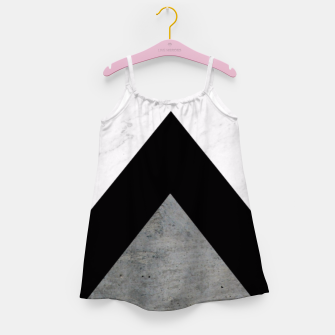 Thumbnail image of Arrows Collages Monochrome  Girl's Dress, Live Heroes