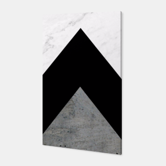 Thumbnail image of Arrows Collages Monochrome  Canvas, Live Heroes