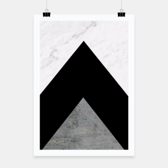 Thumbnail image of Arrows Collages Monochrome  Poster, Live Heroes