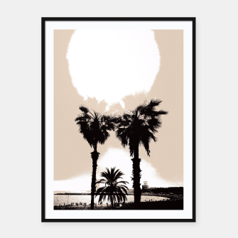 Thumbnail image of Holding on to Summer Framed poster, Live Heroes