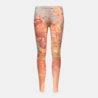 Miniaturka Pastel Winter Girl's Leggings, Live Heroes