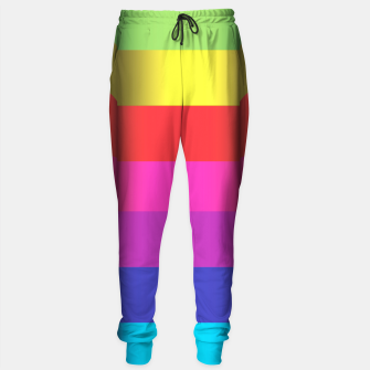 Thumbnail image of Bright Curved Vibrant Abstract Sweatpants, Live Heroes