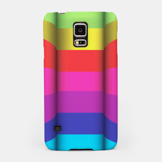Thumbnail image of Bright Curved Vibrant Abstract Samsung Case, Live Heroes