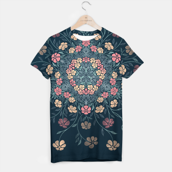 Thumbnail image of Pretty Pastel Flowers T-shirt, Live Heroes