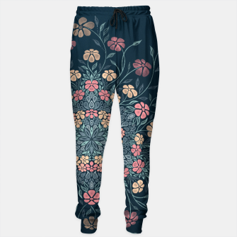 Thumbnail image of Pretty Pastel Flowers Sweatpants, Live Heroes