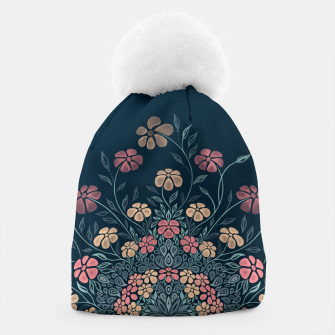 Thumbnail image of Pretty Pastel Flowers Beanie, Live Heroes