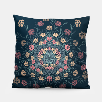Thumbnail image of Pretty Pastel Flowers Pillow, Live Heroes