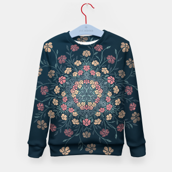 Thumbnail image of Pretty Pastel Flowers Kid's Sweater, Live Heroes