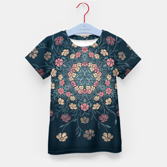 Thumbnail image of Pretty Pastel Flowers Kid's T-shirt, Live Heroes