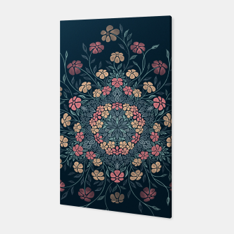 Thumbnail image of Pretty Pastel Flowers Canvas, Live Heroes