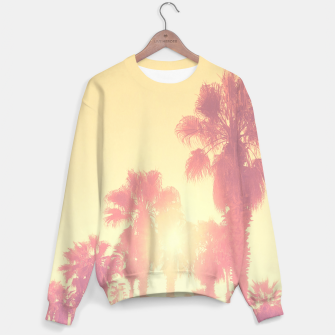 Miniaturka yellow palmtrees Sweater, Live Heroes