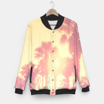 Miniaturka yellow palmtrees Baseball Jacket, Live Heroes
