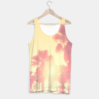 Miniaturka yellow palmtrees Tank Top, Live Heroes