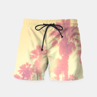 Miniaturka yellow palmtrees Swim Shorts, Live Heroes
