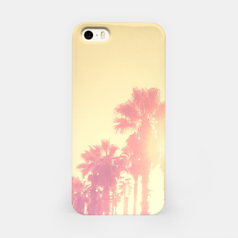Miniaturka yellow palmtrees iPhone Case, Live Heroes