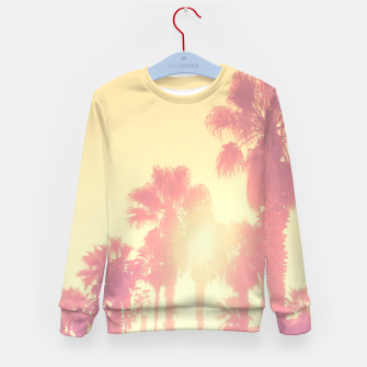 Miniaturka yellow palmtrees Kid's Sweater, Live Heroes