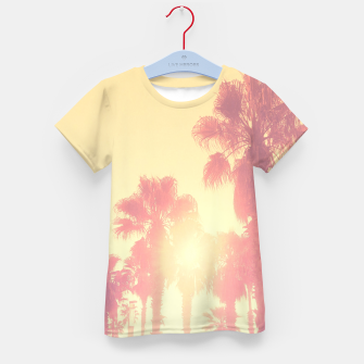 Miniaturka yellow palmtrees Kid's T-shirt, Live Heroes