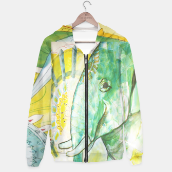 Thumbnail image of Indian Elephant Hoodie, Live Heroes