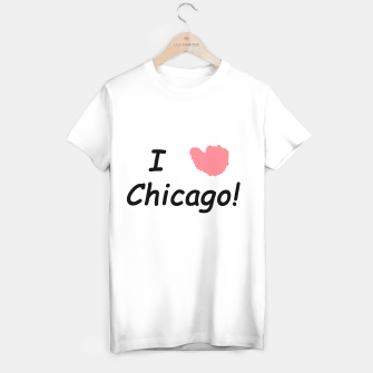 Thumbnail image of IHEART Chicago Women's Tee, Live Heroes