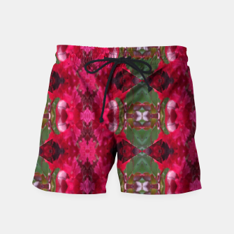 Thumbnail image of Christmas Wrap Swimshorts for Men, Live Heroes
