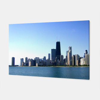 Thumbnail image of Chicago Skyline Wall Canvas, Live Heroes
