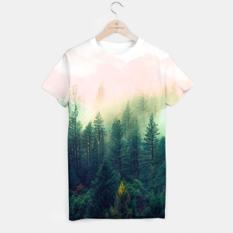 Miniaturka mountain landscape painting Camiseta, Live Heroes
