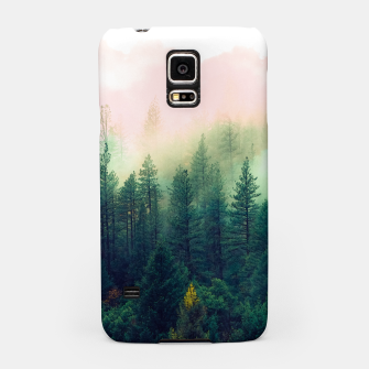Miniaturka mountain landscape painting Carcasa por Samsung, Live Heroes