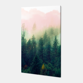 Miniatur mountain landscape painting Canvas, Live Heroes