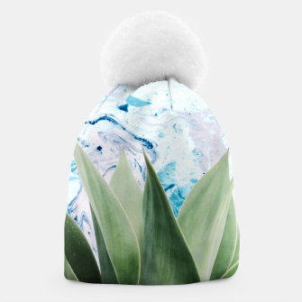 Thumbnail image of Marbled background plant Gorro, Live Heroes
