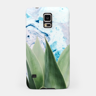 Thumbnail image of Marbled background plant Carcasa por Samsung, Live Heroes