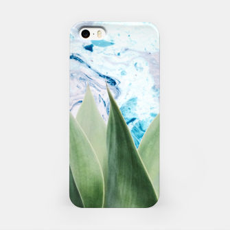 Thumbnail image of Marbled background plant Carcasa por Iphone, Live Heroes
