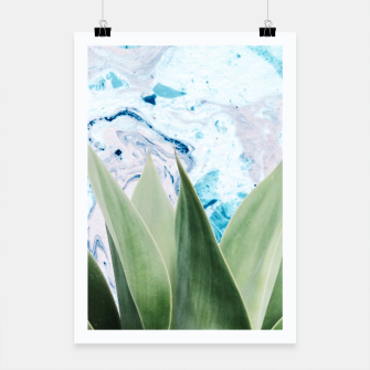 Thumbnail image of Marbled background plant Cartel, Live Heroes