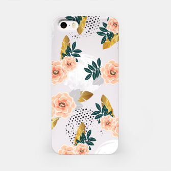 Thumbnail image of Floral pattern of roses Carcasa por Iphone, Live Heroes