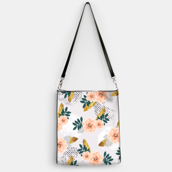 Thumbnail image of Floral pattern of roses Bolso, Live Heroes
