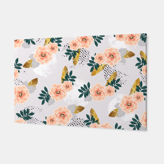 Thumbnail image of Floral pattern of roses Canvas, Live Heroes