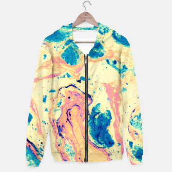 Miniatur Colorful marbled paper II Sudadera con capucha, Live Heroes