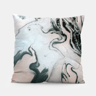 Abstract marble effect painting Almohada Bild der Miniatur