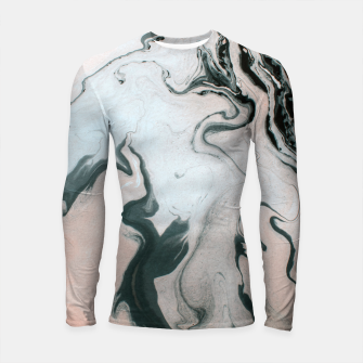 Thumbnail image of Abstract marble effect painting Longsleeve Rashguard, Live Heroes