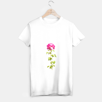 Miniature de image de Pink Rose Photo T-shirt regular, Live Heroes