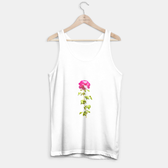 Miniature de image de Pink Rose Photo Tank Top regular, Live Heroes